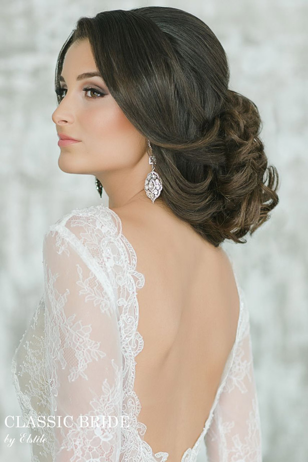Terrific Gorgeous Wedding Hairstyles And Makeup Ideas Belle The Magazine Hairstyle Inspiration Daily Dogsangcom