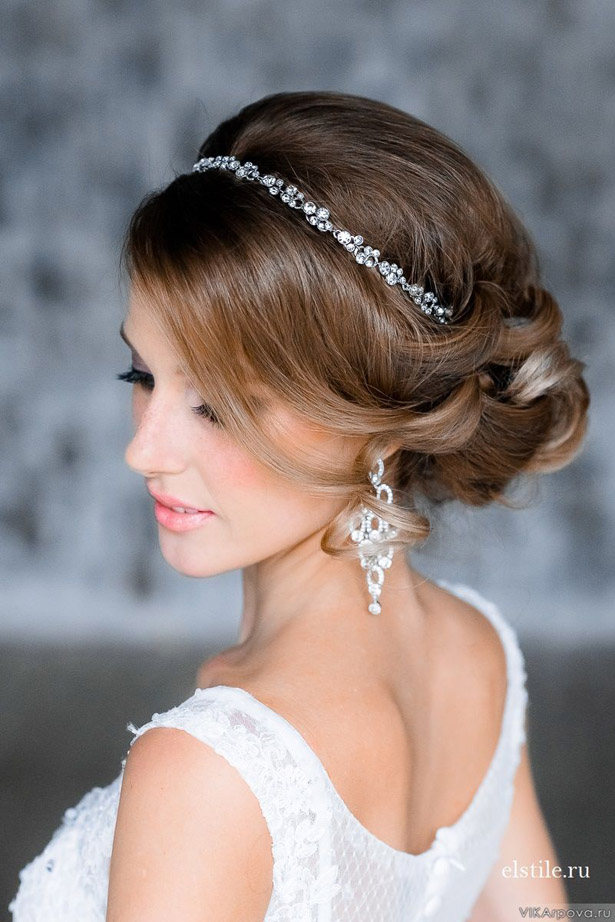 Bridal Makeup Hairstyle Images : Gorgeous Wedding Hairstyles and Makeup Ideas - Belle The ...