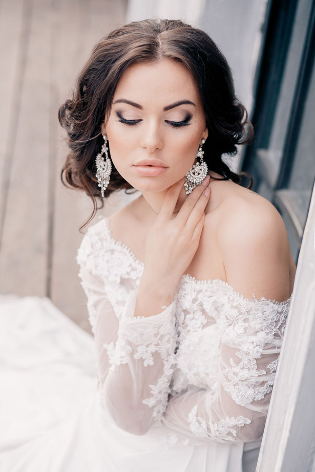 hair and makeup styles for wedding 23 peinados y maquillajes elegantes para novia 6243
