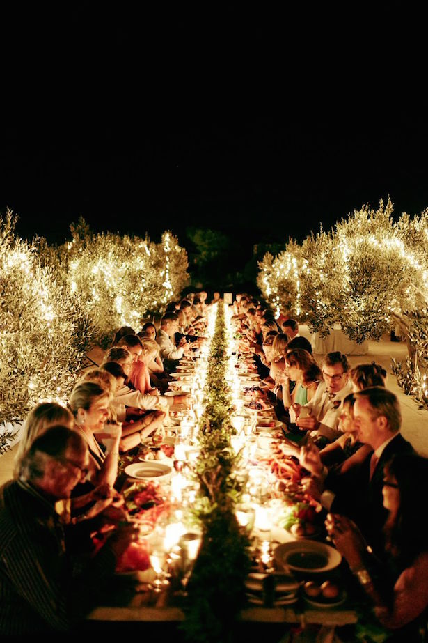 Fabulous Long Wedding Tables