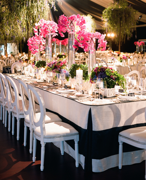 Sophisticated Wedding Tablescape