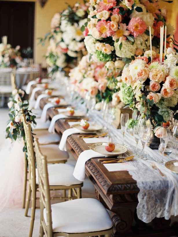 Vintage and Lavish Tablescape