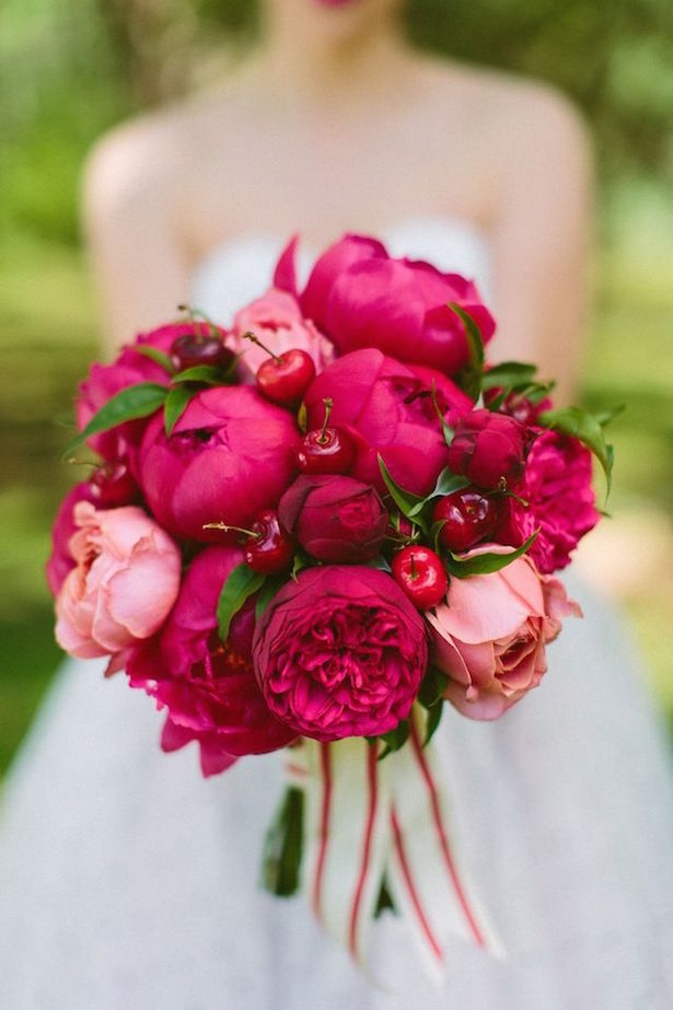 Gorgeous Bright Wedding Bouquet