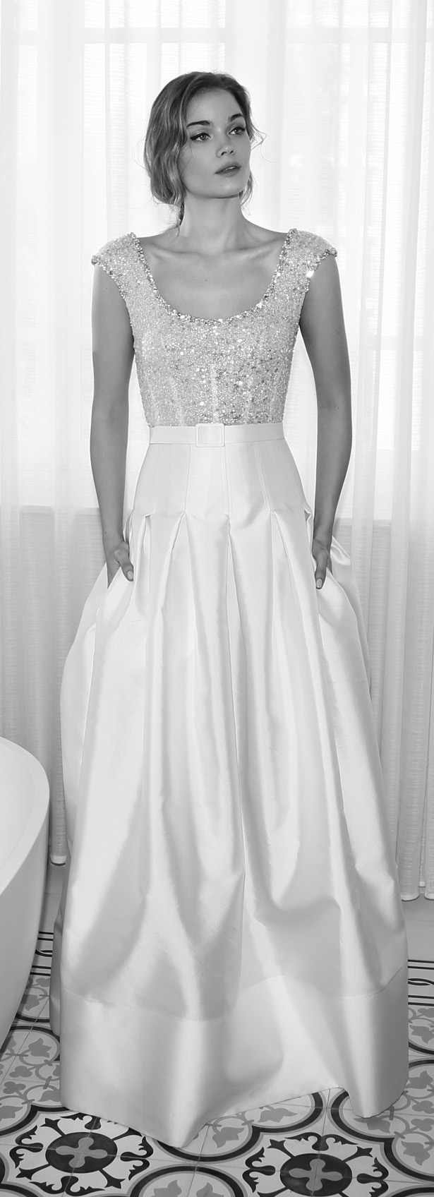 Lihi Hod 2015 Wedding Drees - Almond