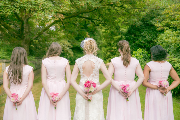 Pink and Green Whimsical Wedding