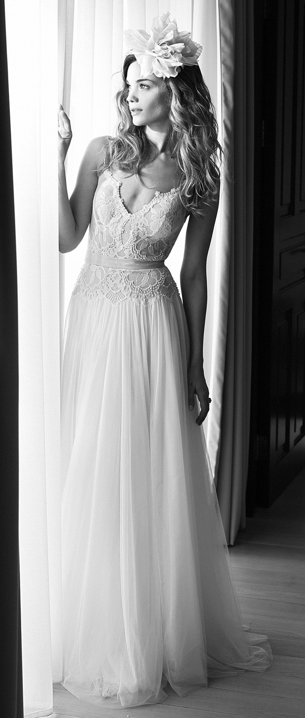 Lihi Hod 2015 Wedding Dress - Midnight Ballerina