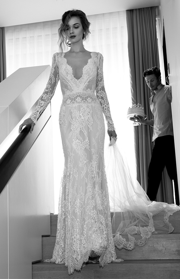 Lihi hod 2015 wedding dress white orchid for Lihi hod wedding dress