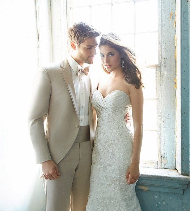 Allure Bridals Spring 2015 wedding dress