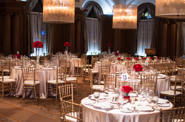 Sophisticated Ballroom Reception