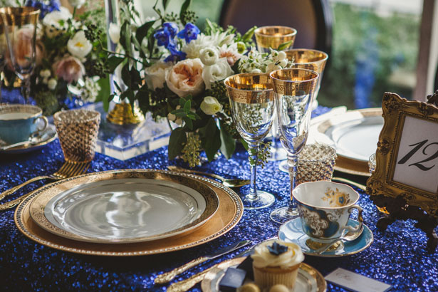 Wedding decorations blue and gold royal blue and gold wedding wedding decorations blue and gold royal blue and gold wedding decorations vintage meets glam junglespirit Images