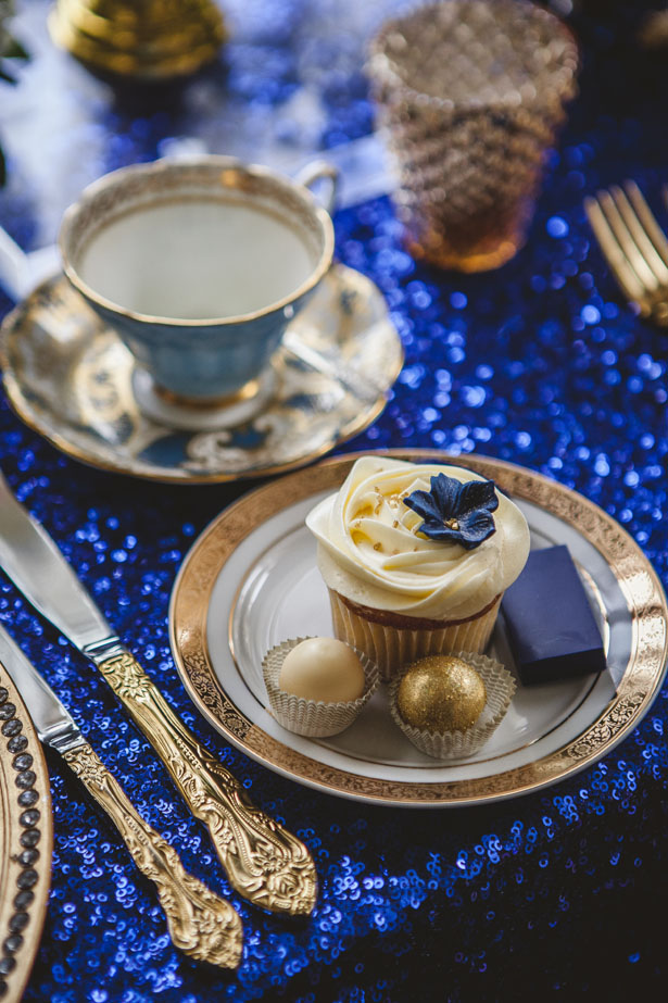 Royal Blue and Gold Wedding Ideas