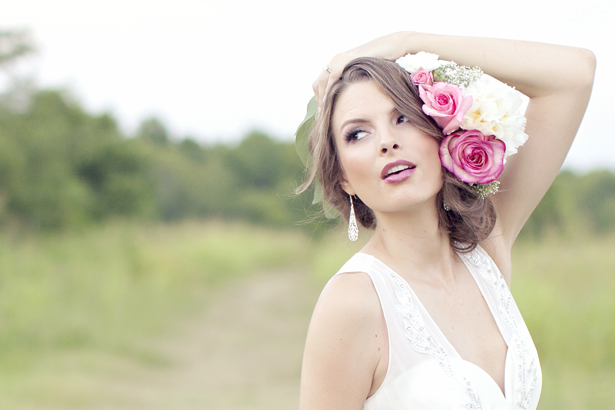 The Golden Age Meets Spring in a Bridal Fashion Shoot