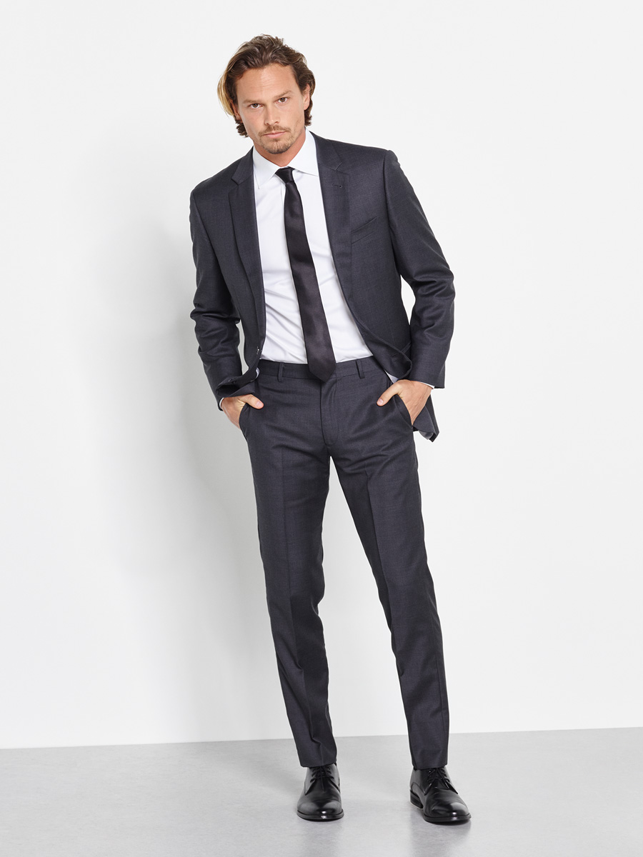 Charcoal Suite by The Black Tux