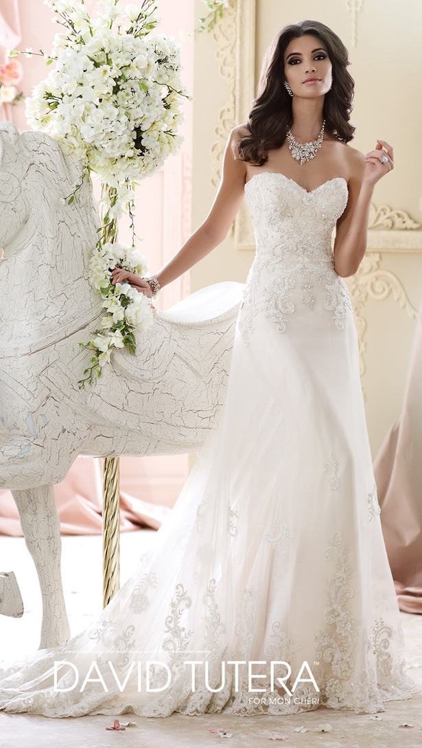 David Tutera Fall 2015 Bridal Collection