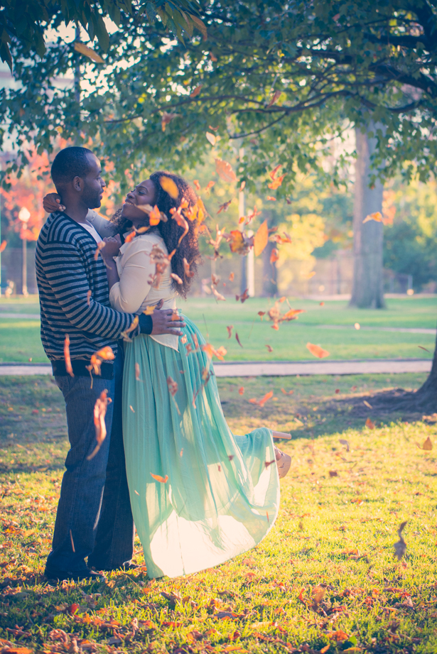 A Romantically Urban Engagement Session