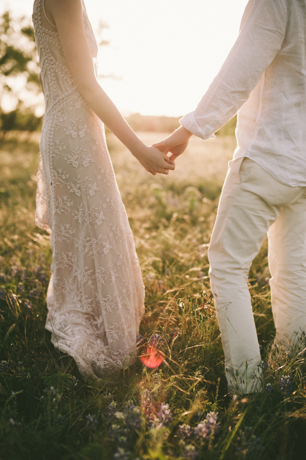 An Ethereal Engagement Session