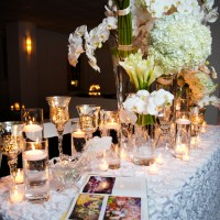 Luxury white wedding flowers