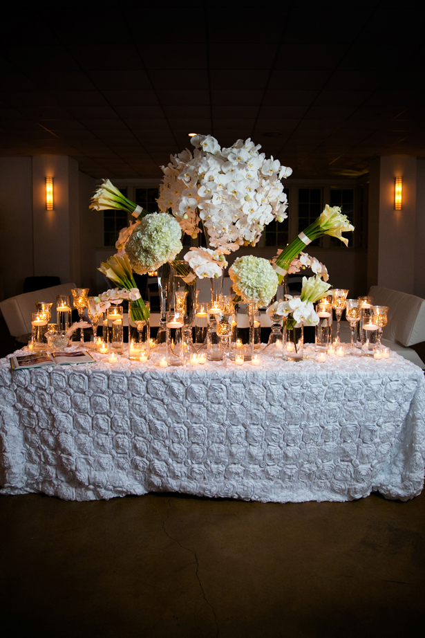 Luxury White Wedding Decor