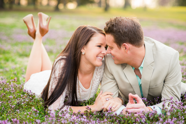 Spring Engagement Session Idea