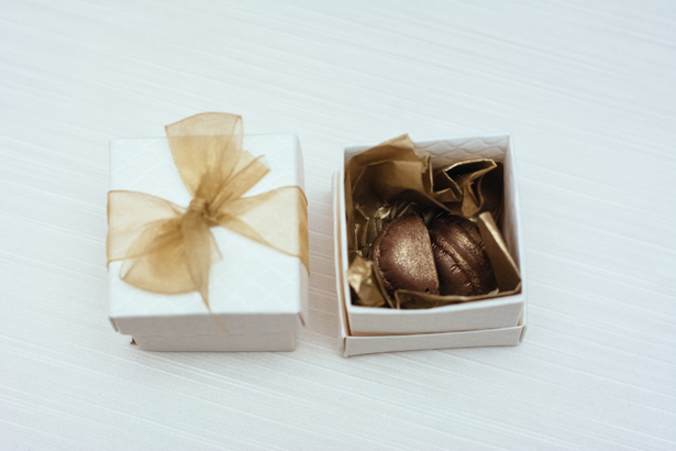 Wedding favors french macaroons