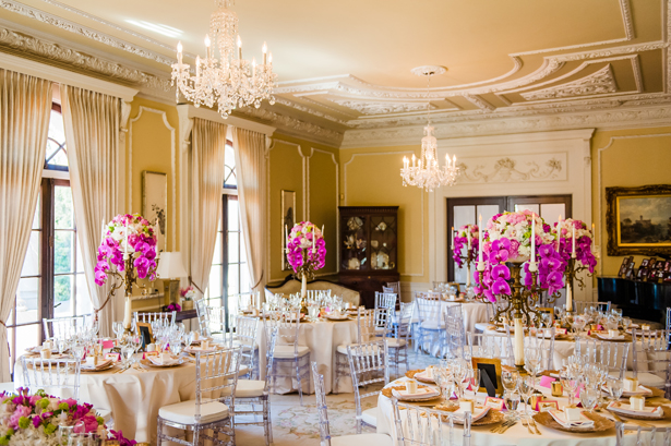 Lavish wedding reception