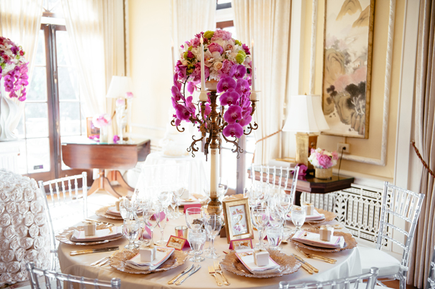 lavish wedding table decor