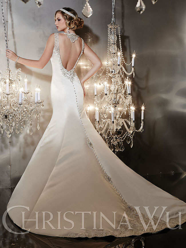 Find your happily ever after in christina wu belle the for Ever after wedding dress