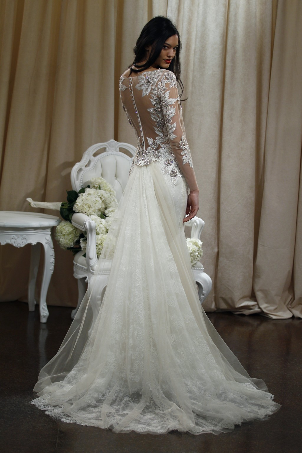Badgley Mischka Bride Spring 2016 Presentation