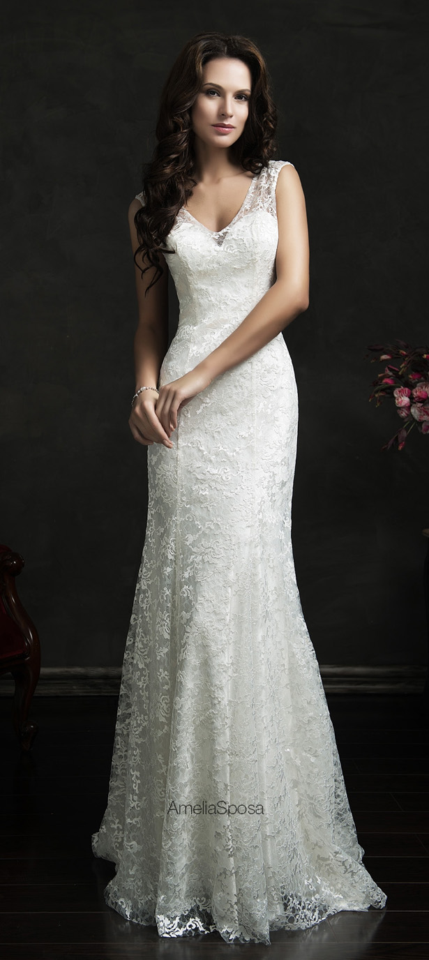 Amelia Sposa 2015 Wedding Dress - Anita