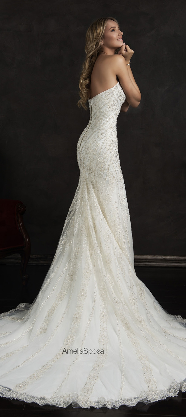 Best wedding dresses of 2015 belle the magazine for Where to buy amelia sposa wedding dress
