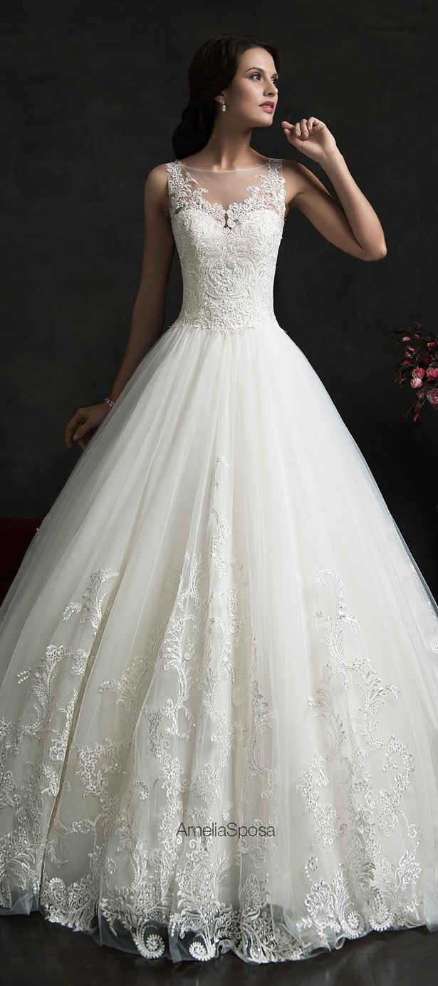 Amelia Sposa 2015 Wedding Dresses Belle The Magazine