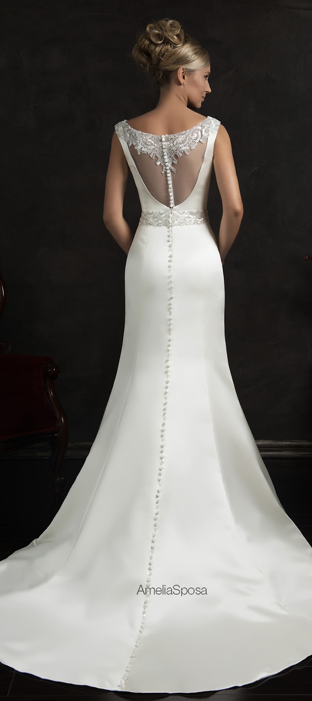 Amelia Sposa 2015 Wedding Dress - Fidelia