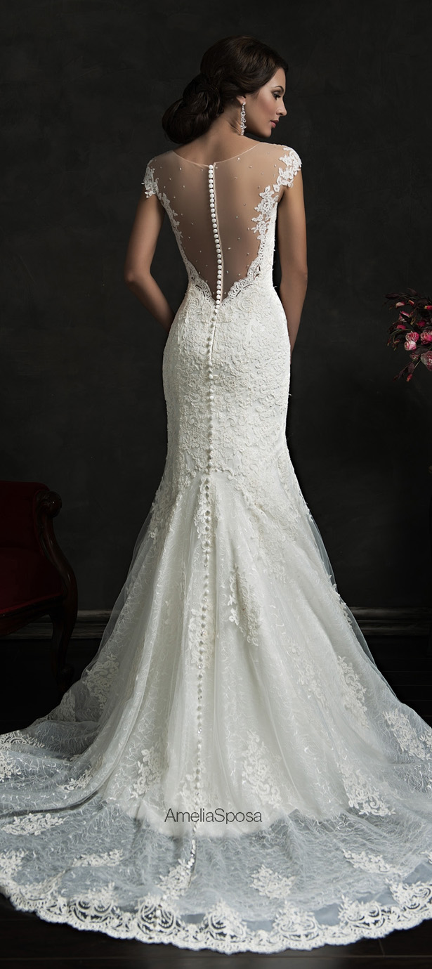 Amelia Sposa 2015 Wedding Dress - Karolina