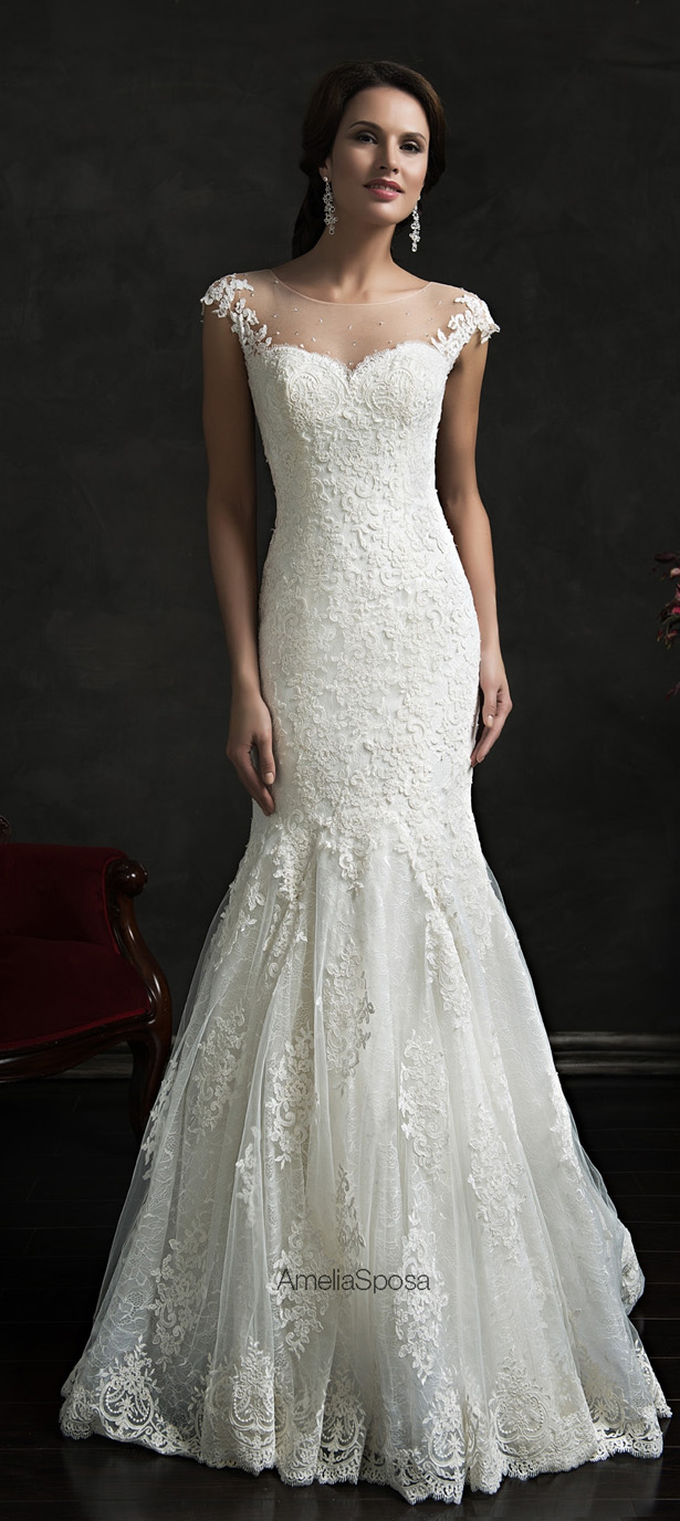 Amelia Sposa 2015 Wedding Dress - Karolinaa