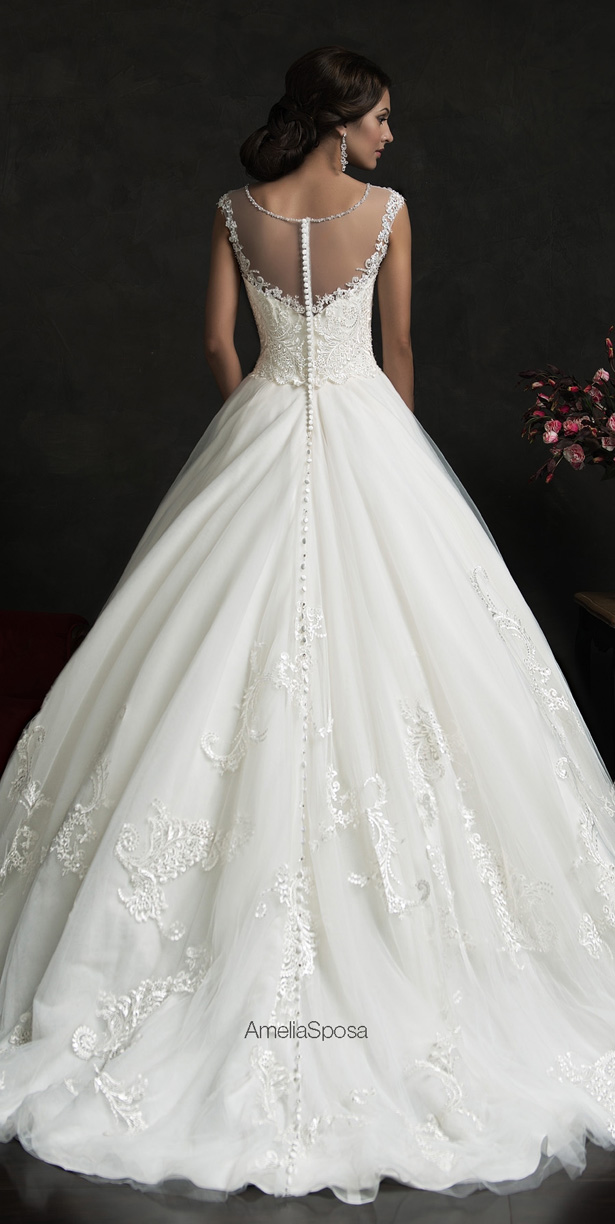 Amelia Sposa 2015 Wedding Dress - Luiza