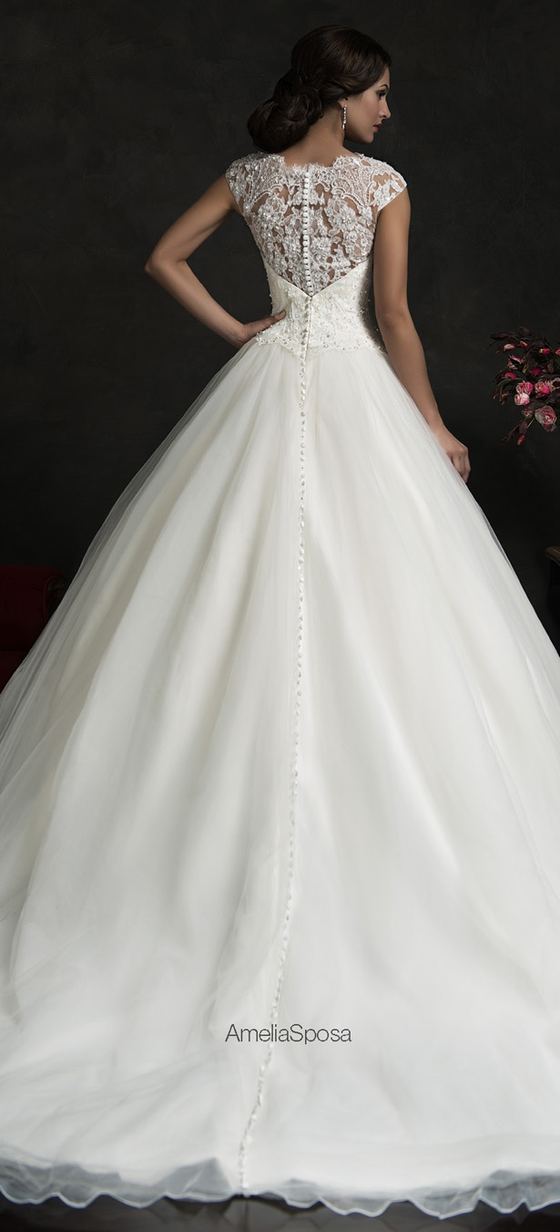 Amelia Sposa 2015 Wedding Dress - Monica