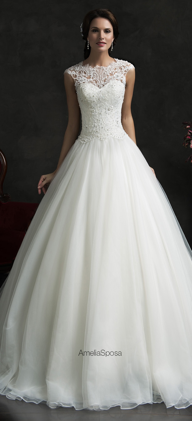 Amelia sposa 2015 wedding dresses belle the magazine for Best stores for dresses for weddings