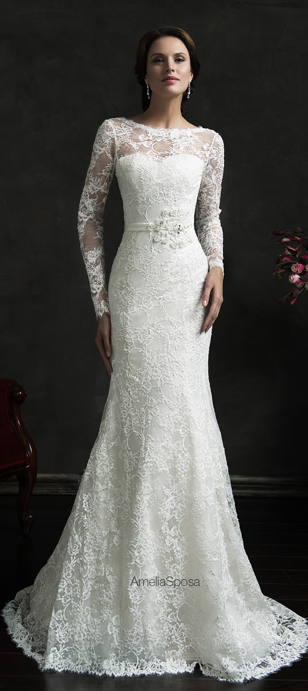 Amelia Sposa 2015 Wedding Dress - Novia