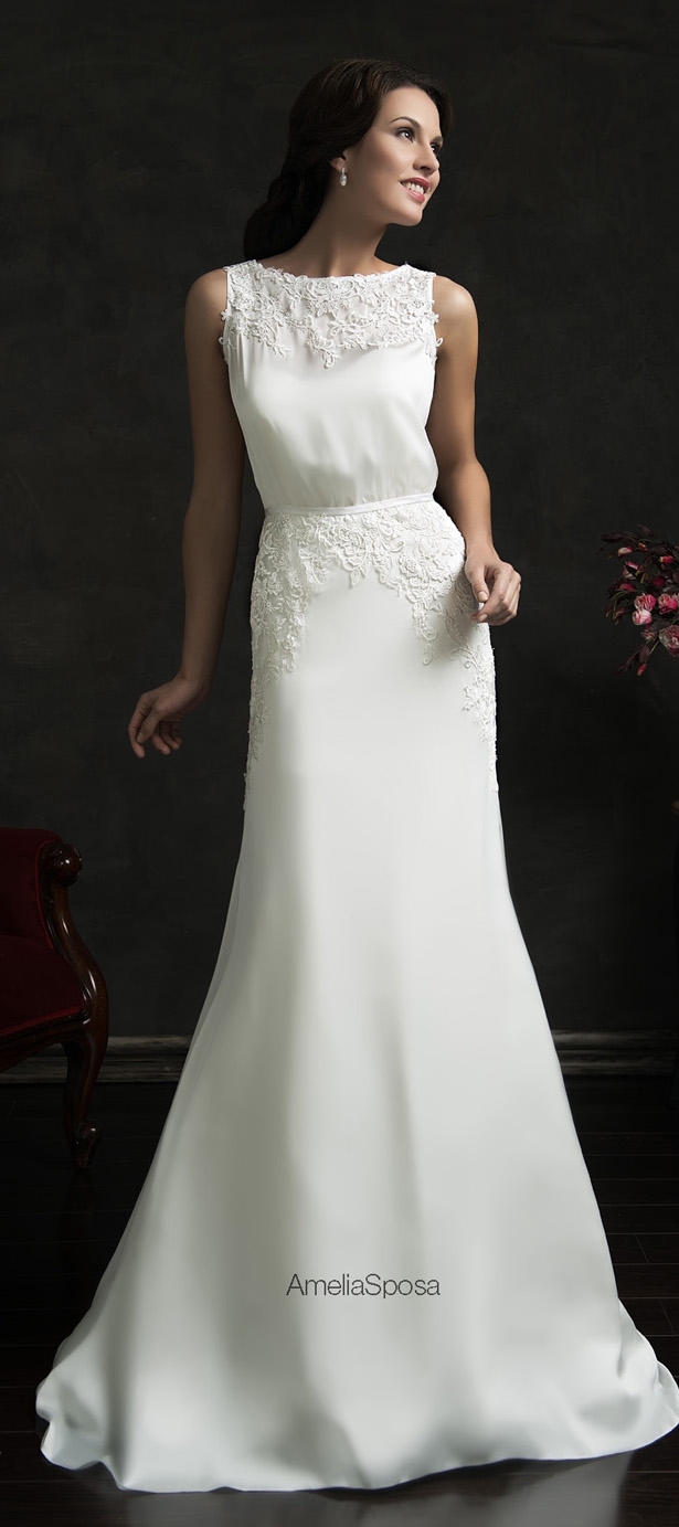 Amelia Sposa 2015 Wedding Dress - Tereza