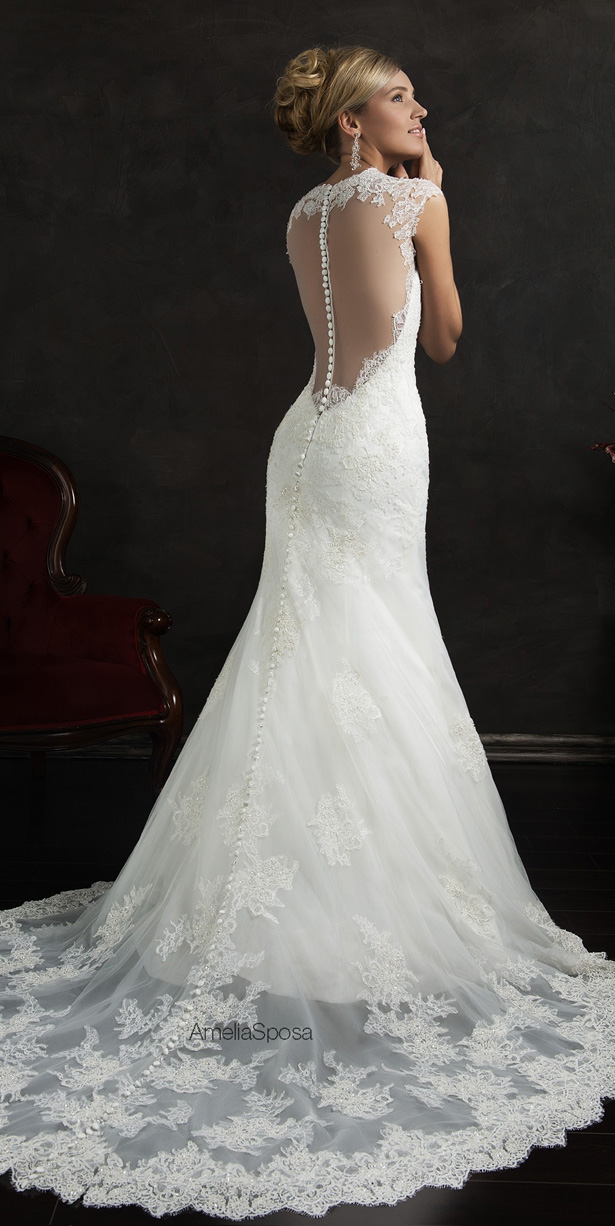 Amelia Sposa 2015 Wedding Dress - Valensia
