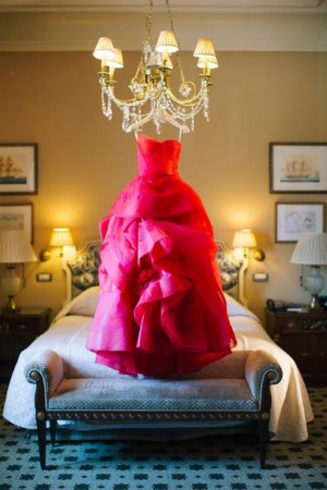 Red Wedding Dress by Vera Wang