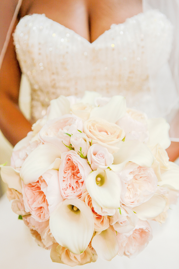 Romantic Blush + Peach Wedding
