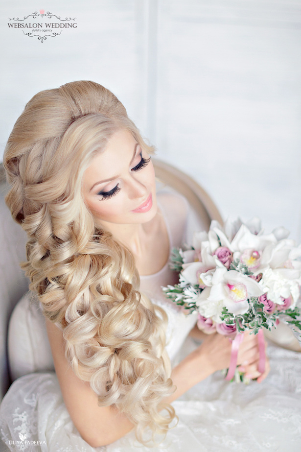 10 Glamorous Wedding Hairstyles You Ll Love Belle The