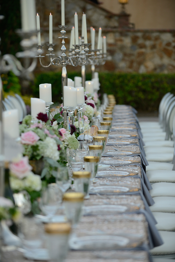Long Wedding Table