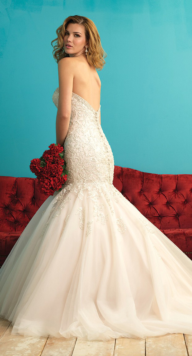 Allure Bridals Fall 2015 Belle The Magazine - Wedding Dress 100