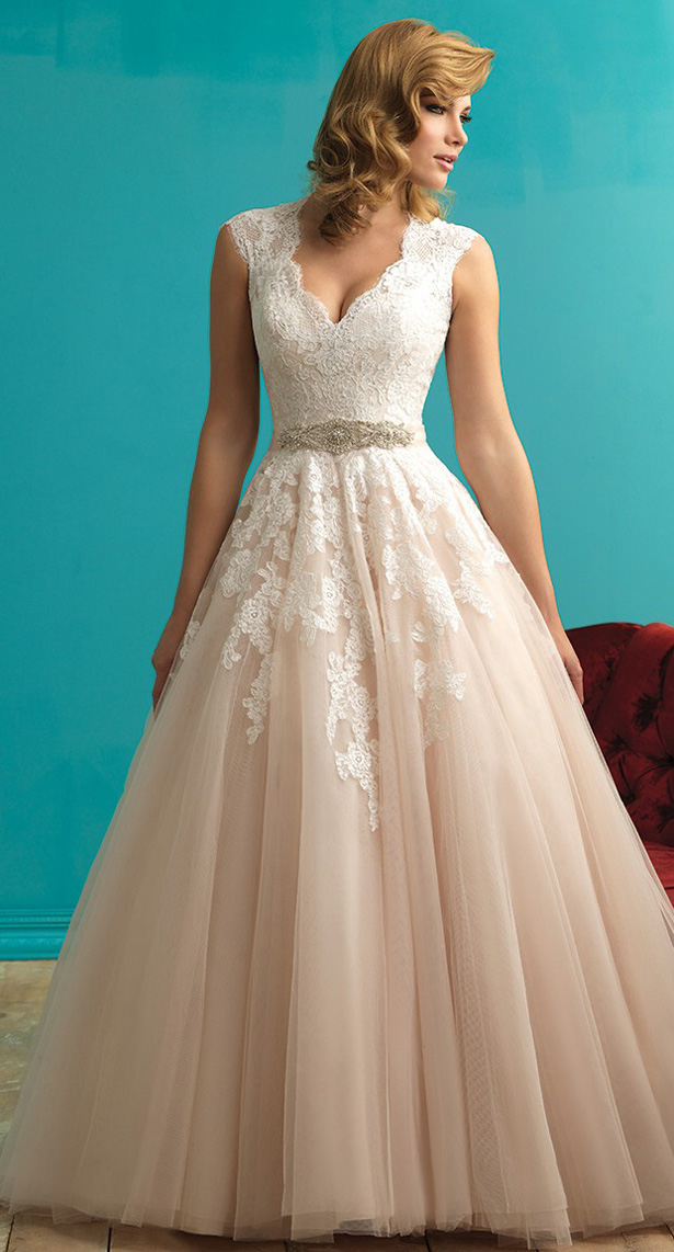 824065107424 ... Allure Bridals Fall 2015 Wedding Dress ...