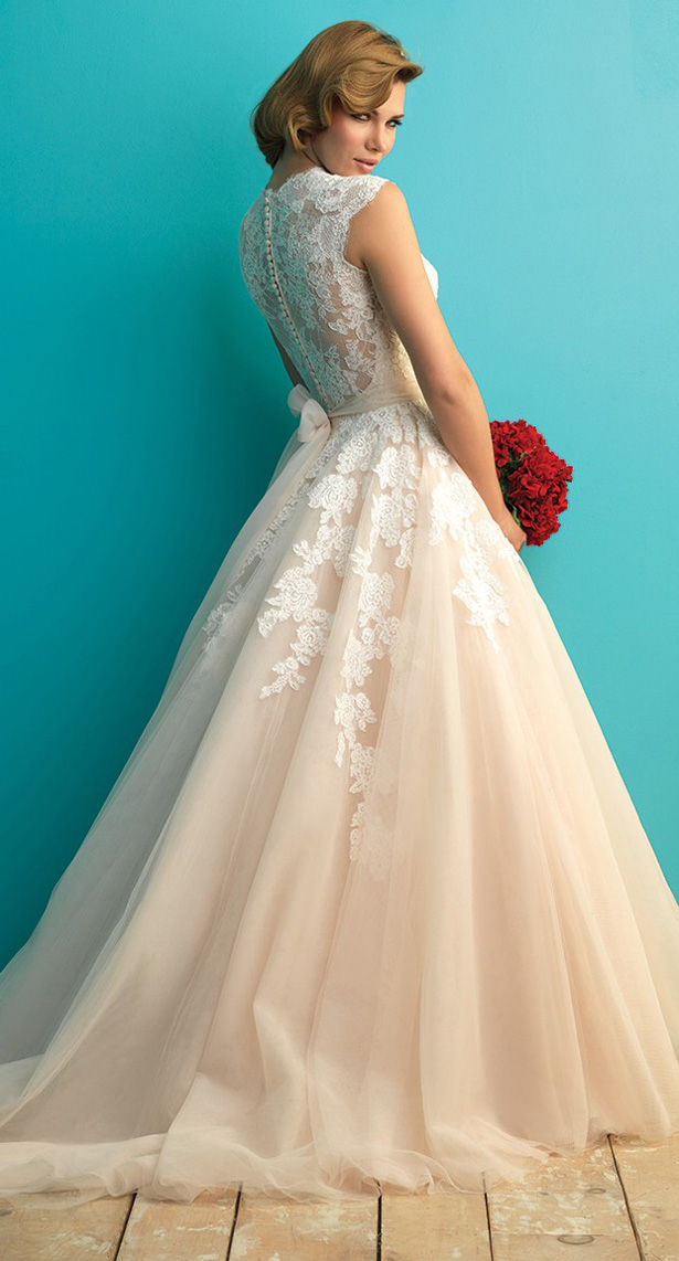 Allure Bridals Fall 2017 Wedding Dress