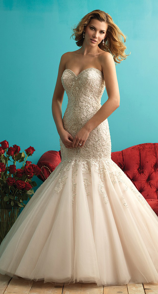 Selling brand new allure wedding dress never worn the knot for How to sell wedding dress never worn