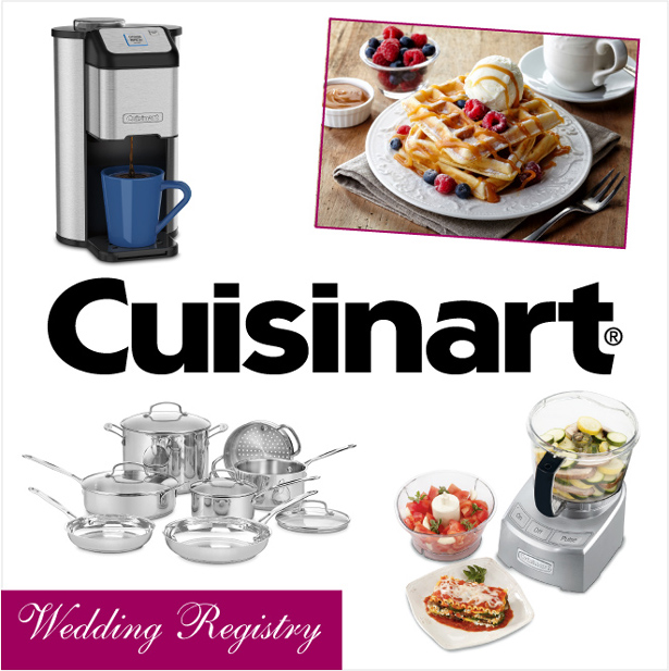 Taking Your Wedding Registry to the Next Level with Cuisinart