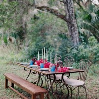 Mexicana Drama Inspired Rustic Wedding Tablescape